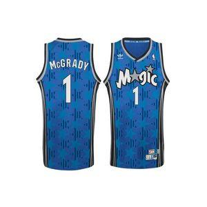 Basketball adulte ADIDAS Maillot NBA tracy McGrady Orlando Magic bleu adidas Swingman Hardwood Classics taille - M