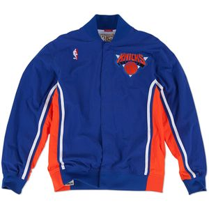 Basket ball homme MITCHELL AND NESS Veste d'échauffement M&N Nba Authentic Ny Knicks