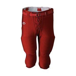 RAWLINGS Pantalon de Football Americain Rawlings rouge pour adulte taille - S