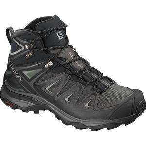 Randonnée pédestre femme SALOMON Salomon - X Ultra 3 Mid GoreTex Femmes chaussures de randonnée (noir/turquoise)