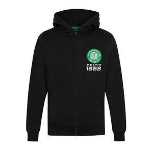 Football garçon GENERIQUE Celtic FC officiel - Pull zippé à capuche thème football - polaire - garçon
