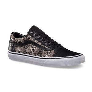 Mode- Lifestyle homme VANS Basket VANS OLD SKOOL Black Snake Premium edition Rare skate shoes