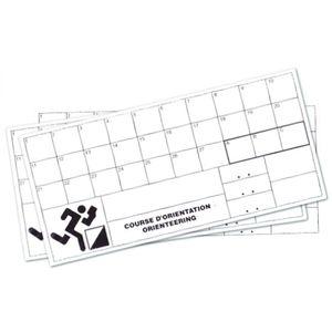 Randonnée pédestre  TREMBLAY CT Carton de contrôle indéchirable Tremblay (x100)