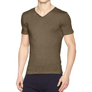 Mode- Lifestyle homme TEDDY SMITH T-shirt kaki homme Teddy Smith Tager