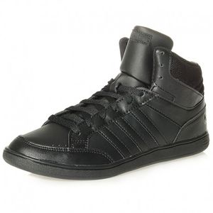femme ADIDAS Chaussures Hoops Mid Noir Femme Adidas