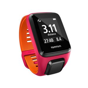 Course à pied  TOMTOM GPS TOMTOM RUNNER 3 CARDIO MUSIC fushia / orange small