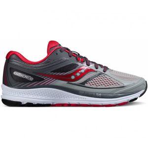 running femme SAUCONY Saucony - Guide 10 Femmes chaussure de course (gris/pourpre)