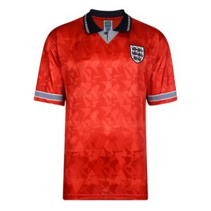 Football homme UKSOCCERSHOP Score Draw England 1990 Ext�rieur Maillot