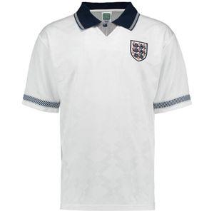 Football homme UKSOCCERSHOP Score Draw England 1990 Domicile Maillot