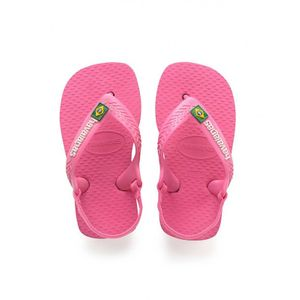 Mode- Lifestyle fille HAVAIANAS Tongs Havaianas Baby Brasil Logo Ii - Shocking Pink