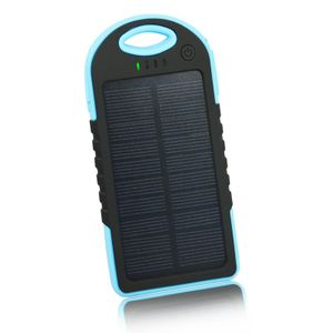 CELLYS Batterie portable Solaire waterproof double USB - Noir