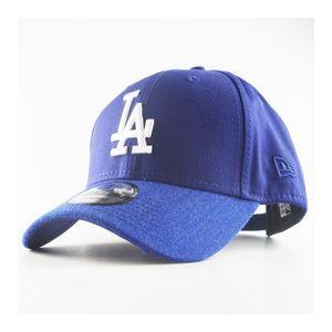 Mode- Lifestyle adulte NEW ERA Casquette New Era 940 Los Angeles Dodgers Team Heather Visor 9Forty Bleu