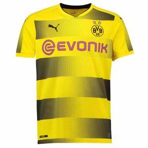 Football adulte PUMA 2017-2018 Borussia Dortmund Puma Home Football Shirt