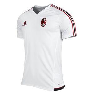 Football homme ADIDAS 2017-2018 AC Milan Adidas Training Jersey (blanc)