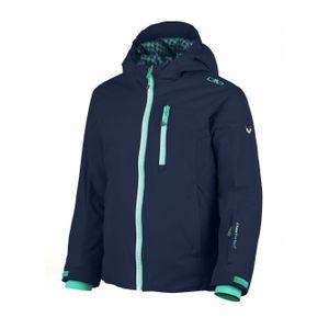 cmp girl snaps hood jacket enfants manteau de ski bleu. Black Bedroom Furniture Sets. Home Design Ideas