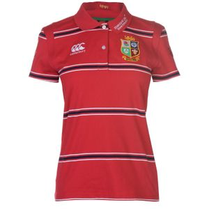 Rugby femme CANTERBURY British And Irish Lions Rugby Polo T-Shirt En Coton