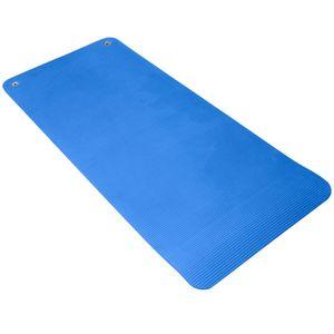 Gymnastique douce  LEADERFIT' PACK 10 TAPIS 140 CM BLEU + RACK MURAL