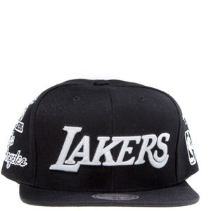Mode- Lifestyle homme MITCHELL & NESS Lakers Homme Snapback Basketball Noir Mitchell & Ness