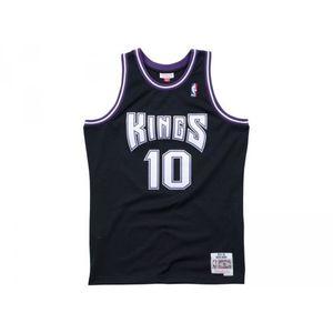 Basketball adulte MITCHELL AND NESS Maillot NBA swingman Mike Bibby Sacramento Kings 2000-01 Hardwood Classics Mitchell & ness noir taille - S