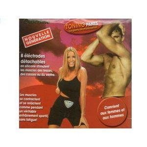Musculation  DELATEX CORSAIRE ELECTRO-STIMULATION  + 1 GEL 38/40