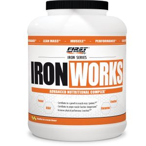 PRISE DE MASSE Musculation  FIRST IRON SYSTEMS IRON WORKS