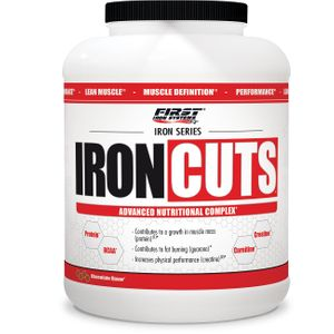 Prise de muscle Musculation  FIRST IRON SYSTEMS IRON CUTS