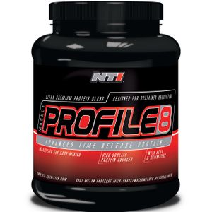 Prise de muscle Musculation  NTI NUTRITION MUSCLE PROFILE 8