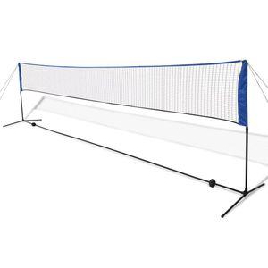 GENERIQUE Filets de badminton Superbe Filet de badminton avec volants 600 x 155 cm