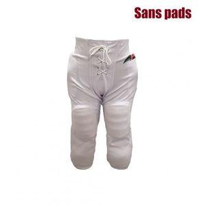 RAWLINGS Pantalon de football américain Sportland blanc pour adulte taille - XXL
