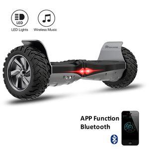 Glisse urbaine  COOL&FUN EVERCROSS Challenger GT Hoverboard Hummer Gyropode Tout Terrain 8.5 pouces Noir + avec bluetooth et App de contrôle + sac de transport
