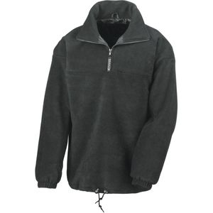 Char à voile homme RESULT Pull-over  polaire doubl�e col zipp� Result