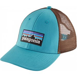 Mode- Lifestyle adulte PATAGONIA Patagonia - P-6 Logo LoPro Trucker Casquette (bleu)