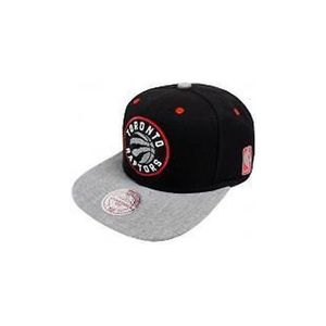 Basket ball homme MITCHELL AND NESS Casquette NBA Toronto raptors Mitchell & ness Fuzz 2 tone Snapback