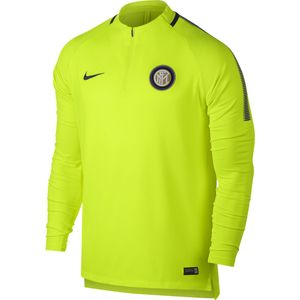 MAILLOT Football homme NIKE Nike Training Top Inter Milan 2017-18 Jaune Haut Entrainement Club Homme Football