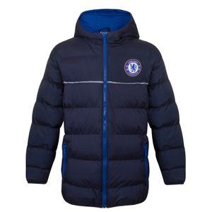 Football garçon CHELSEA FC Chelsea FC officiel - Doudoune matelassée thème football - à capuche - garçon