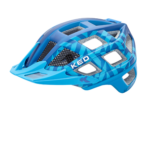 Cycle adulte KED KED CASQUE CROM BLEU MAT L