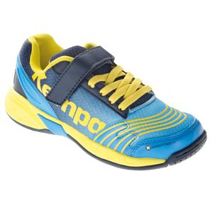 Handball enfant KEMPA Chaussures Junior Kempa Attack bleu/bleu marine/jaune