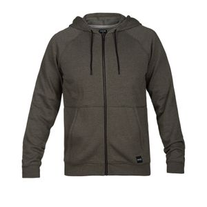 Multisport homme HURLEY Hurley M Crone Full Zip Olive Canvas Htr XXL