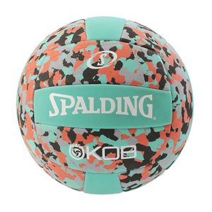 Volley ball  SPALDING Ballon Beach Volley Spalding Kob turquoise/rouge