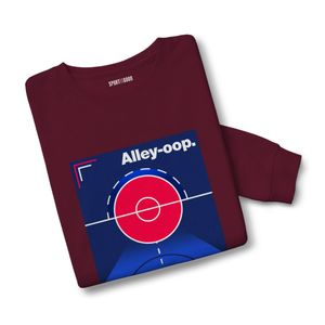 Basket ball adulte SPORT IS GOOD Sweatshirt mixte Alley Oop