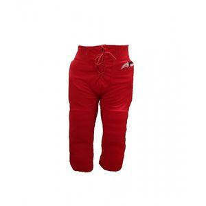SPORTLAND AMERICAN Pantalon de football américain tout intégré Sportland Rouge pour adulte taille - XL