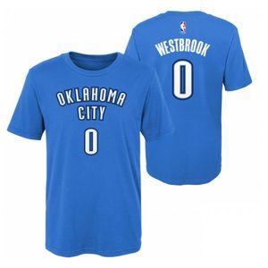 Mode- Lifestyle enfant NBA T-shirt NBA Russell Westbrook Oklahoma Thunders Bleu pour enfant taille - XL (165-175cm)