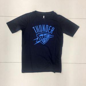 Mode- Lifestyle enfant NBA T-shirt NBA Oklahoma City Thunders Defensive dry tek pour enfant Bleu Taille - M (135-155cm)