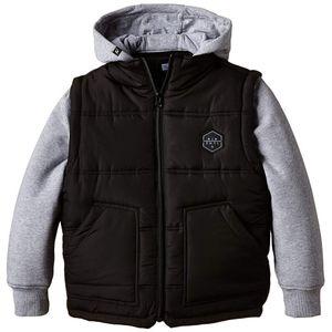 Mode- Lifestyle adulte RIPCURL Jacket Fleece Garçon Blouson Noir Rip Curl