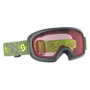 Sports d'hiver  SCOTT Masque De Ski / Snow Scott Muse Pro Otg Grey/yellow Enhancer
