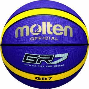 Basket ball adulte MOLTEN Molten BGR7 GK Ballon de basket 2017 Sélection couleur - Vert/Noir