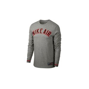 Padel homme NIKE CAMISETA NSW LS CLTR AIR 1 GRIS