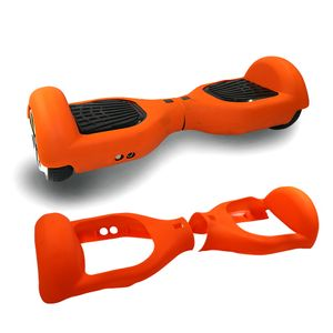 Glisse urbaine  COOL&FUN Housse en silicone demi protection Orange Gyropode Hoverboard