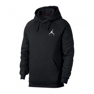 Mode- Lifestyle adulte JORDAN sweat à capuche Jordan Jumpman Fleece PO Rouge Bordeaux pour homme Taille - XL