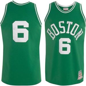 Basketball adulte MITCHELL AND NESS Maillot NBA swingman Bill Russell Boston Celtics Hardwood Classics 1962-1963 Mitchell & ness Vert taille - S